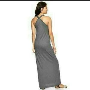 Gap grey maxi dress